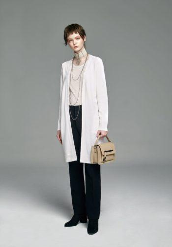 喀什米爾針織長版開襟衫/超薄喀什米爾針織圓領上衣/小羊毛直筒長褲