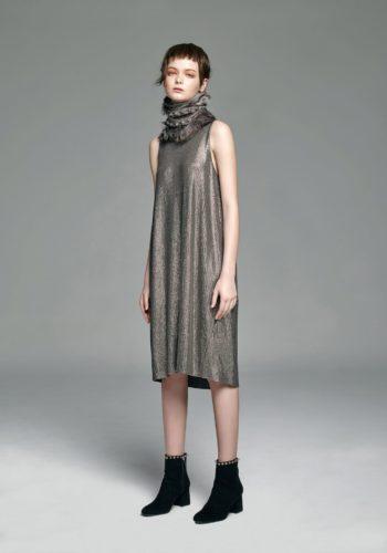 針織亮片背心小禮服